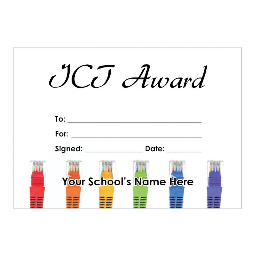 Ict Certificate Set 2 School Stickers For Teachers