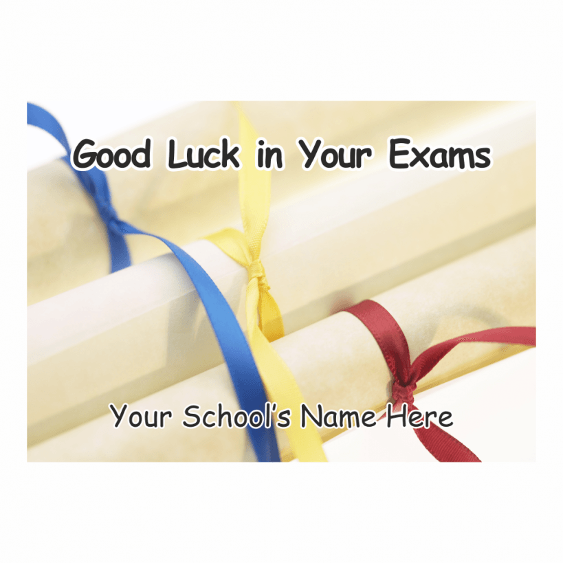 Good Luck on The Exam Good Luck in Your Exam