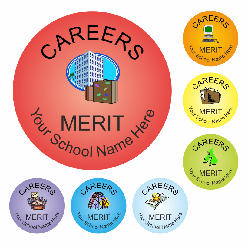 Careers Reward Stickers - Classic