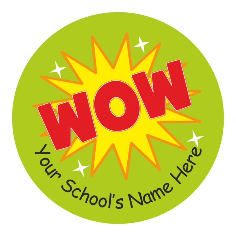 Teachers wow stickers school stickers for teachers