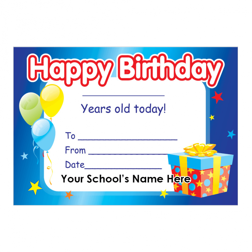 Happy Birthday Certificate Templates Mandegarfo