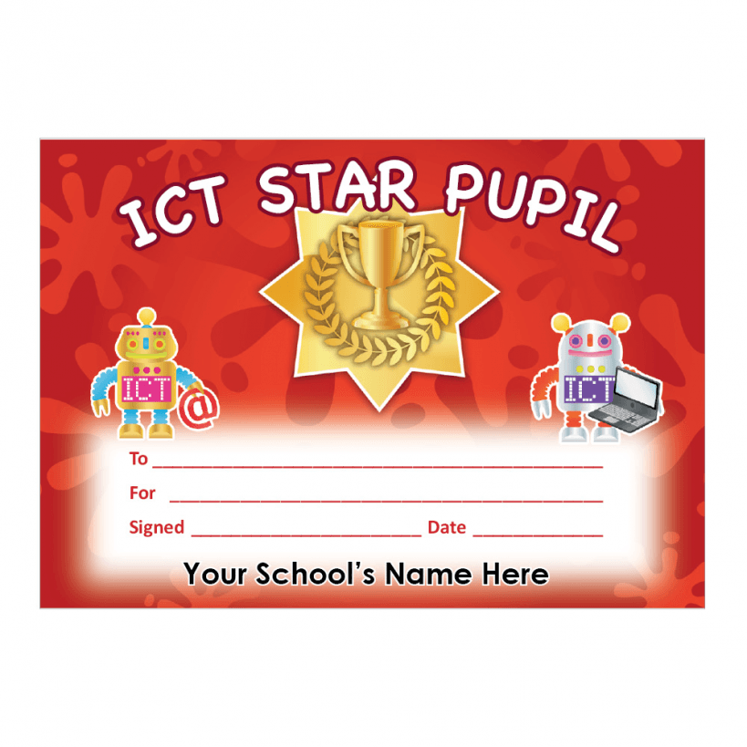 certificate computer science elementary ict primary