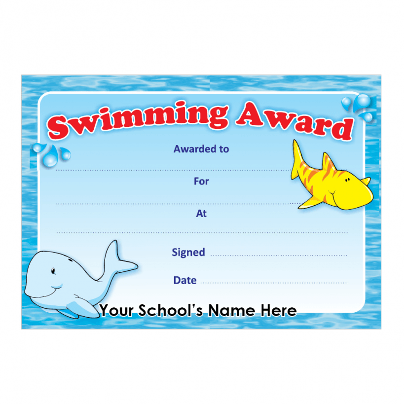 How to Get a Swimming Certificate