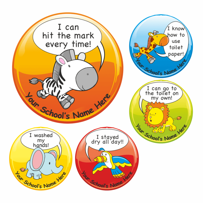 Toilet Training Award Stickers  Stickers for Teachers