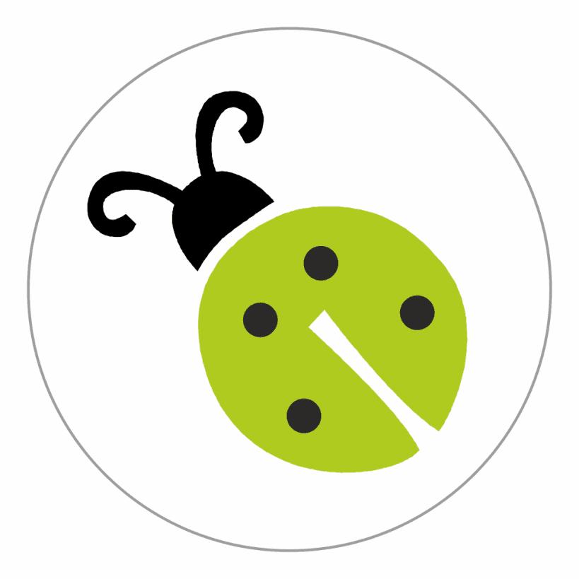 10mm Mini Cute Bug Stickers Stickers For Teachers