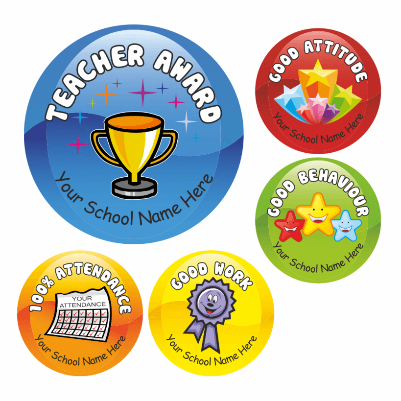 Classroom behaviour stickers
