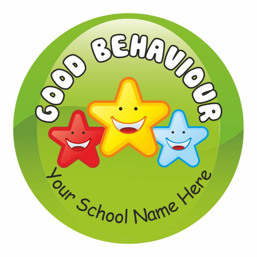 Classroom Behaviour Stickers For Primary Teachers