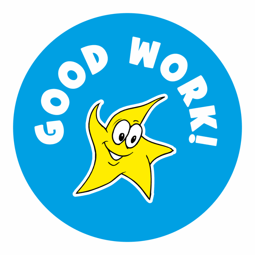 Well Done Praise Stickers| School Stickers For Teachers | 819 x 819 png 22kB