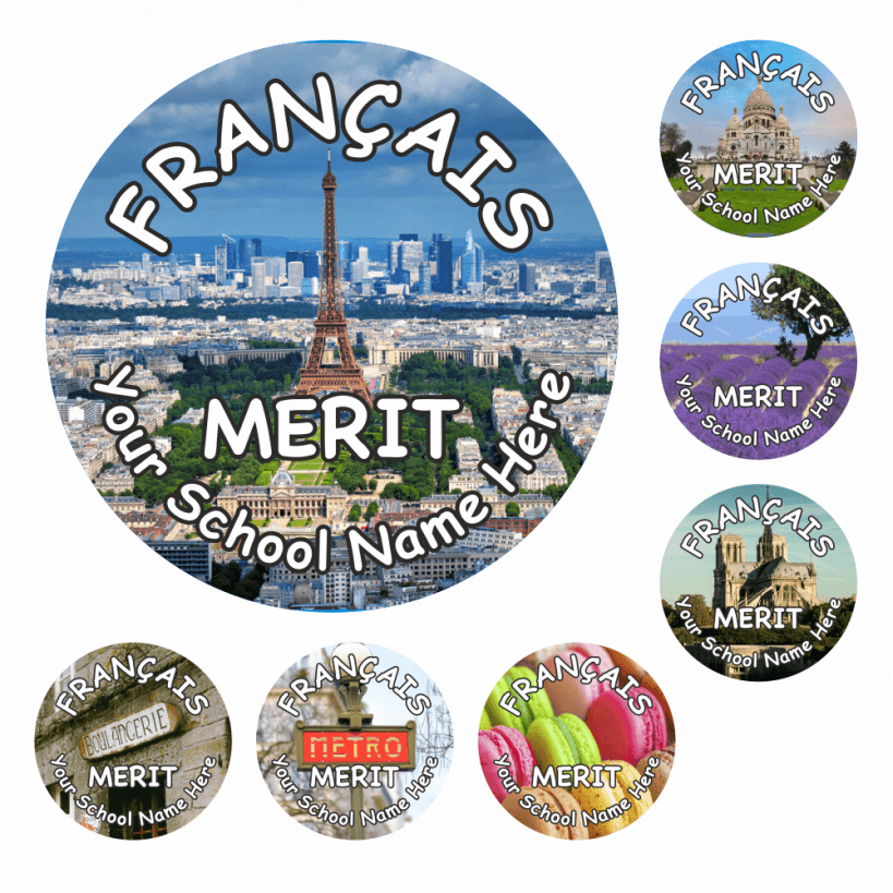 French Snapshot Stickers Stickers For Teachers