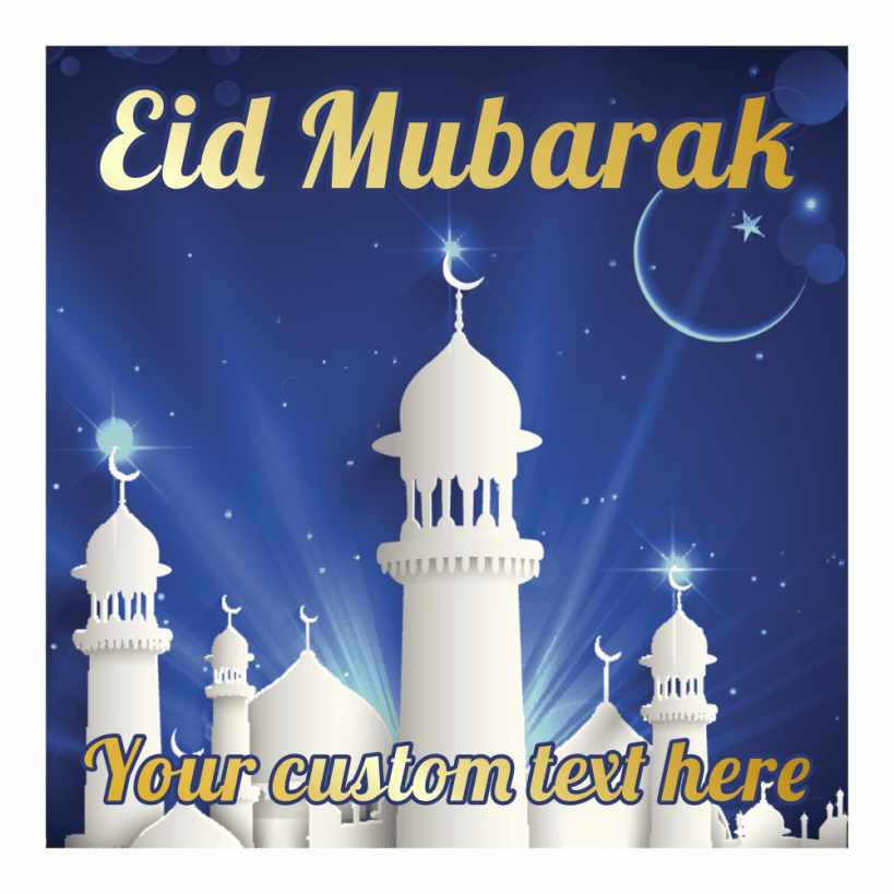 Personalised Eid Stickers