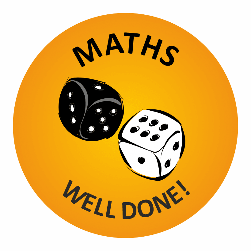 140 Maths Well Done Stickers | School Stickers | 819 x 819 png 79kB
