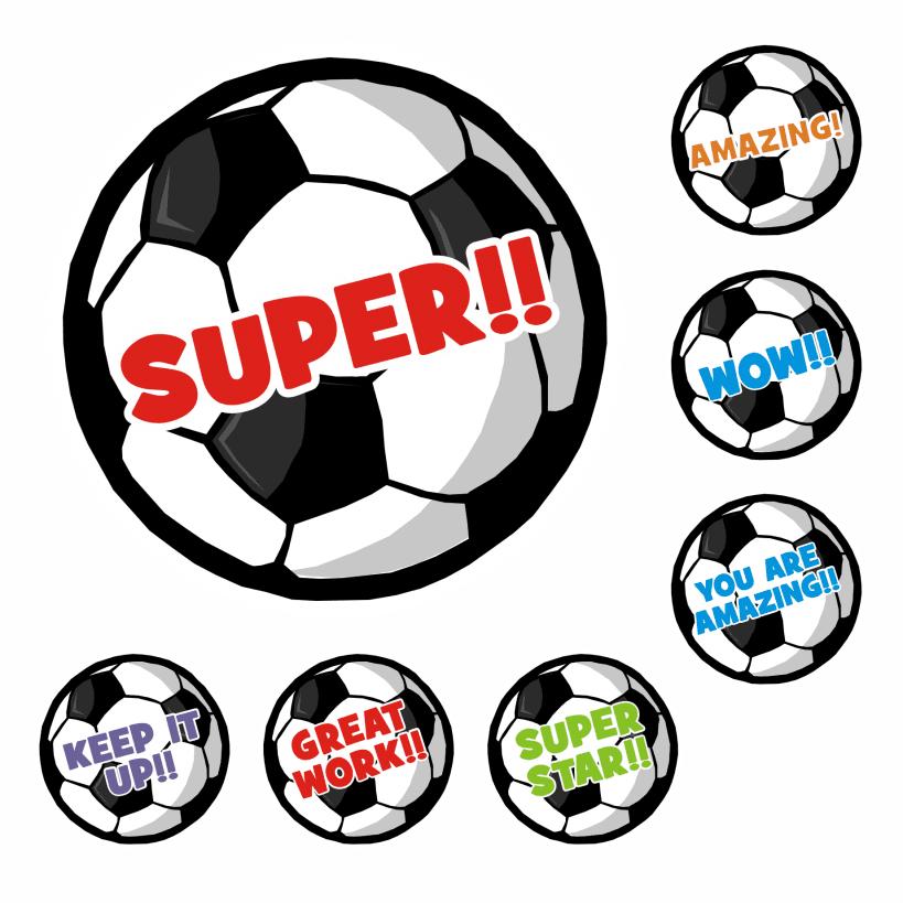 Football Reward Stickers for School Teachers