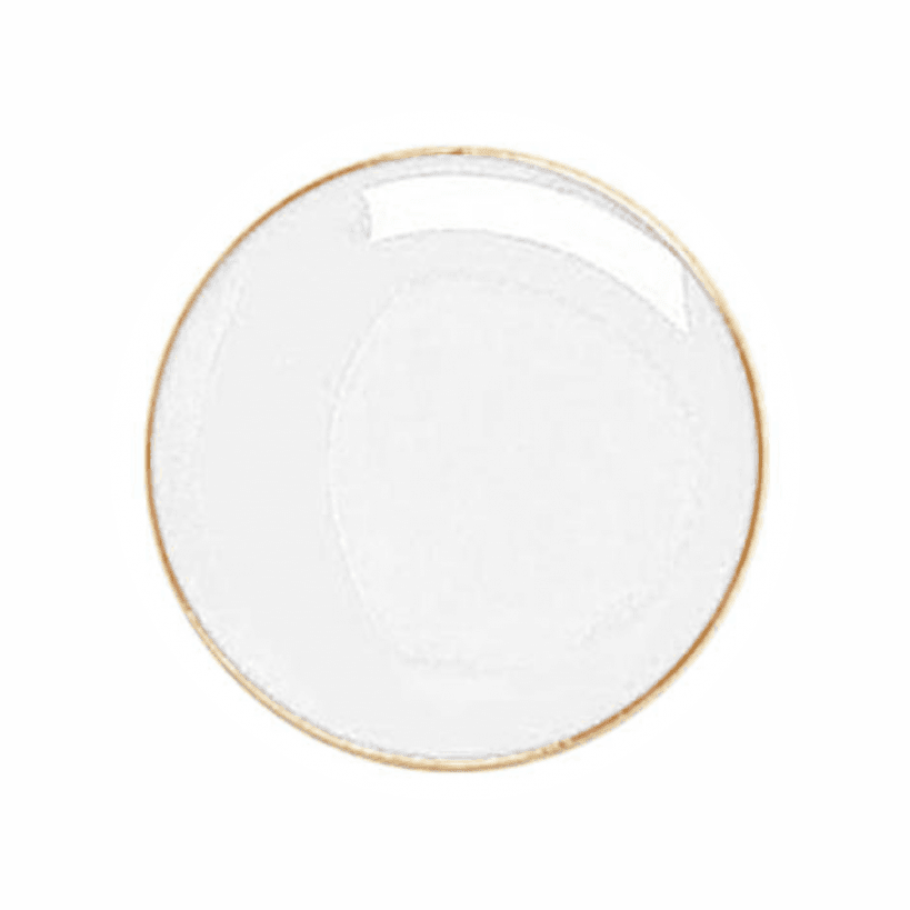round badge white