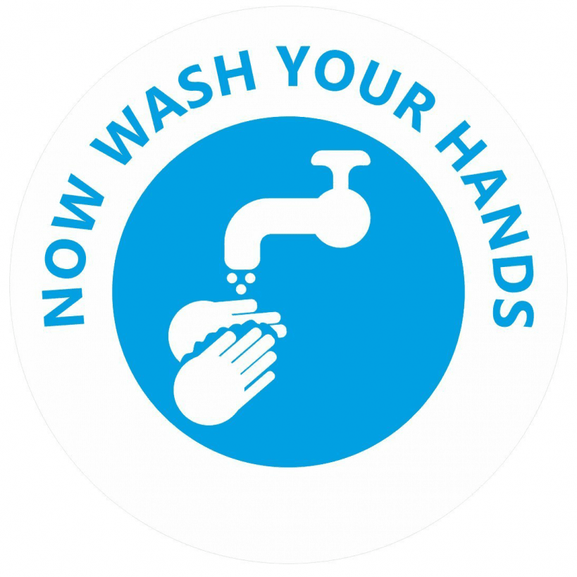Now Wash Your Hands Stickers For Teachers