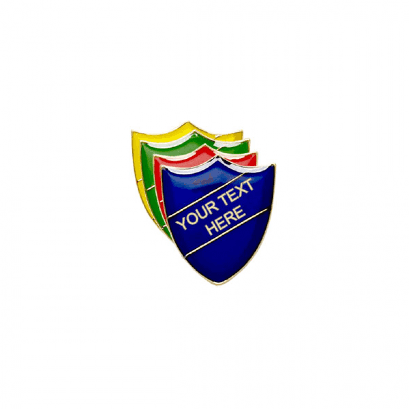 Personalised Shield Badge