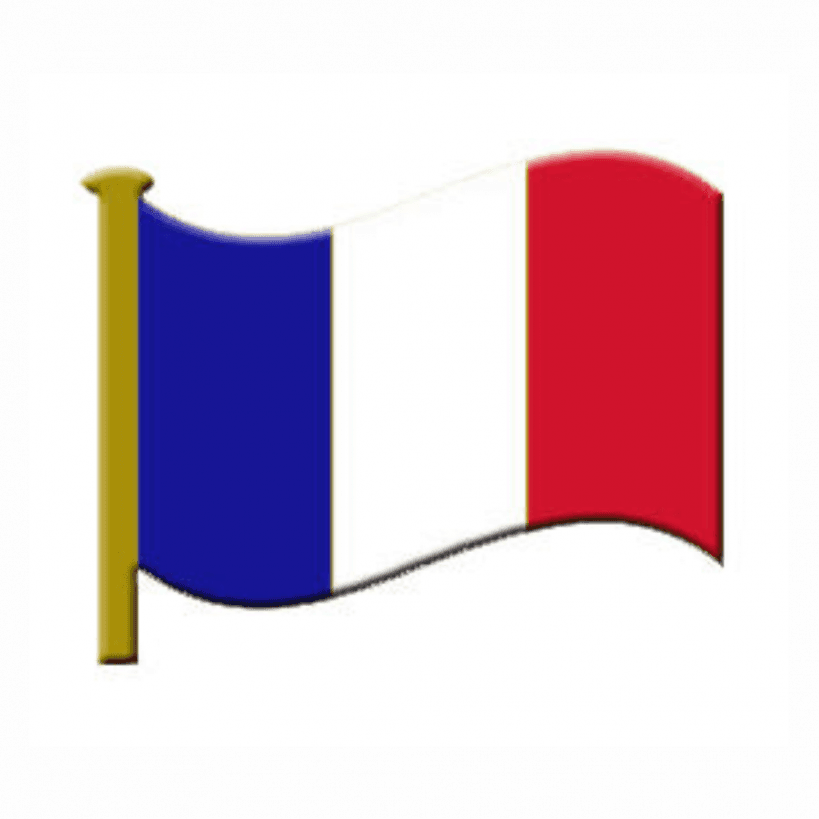 enamel 'france' flag badge | | lapel pin badge