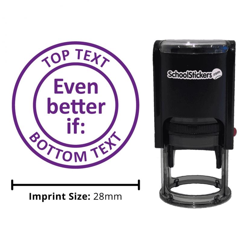 Even better if teachers marking stamp