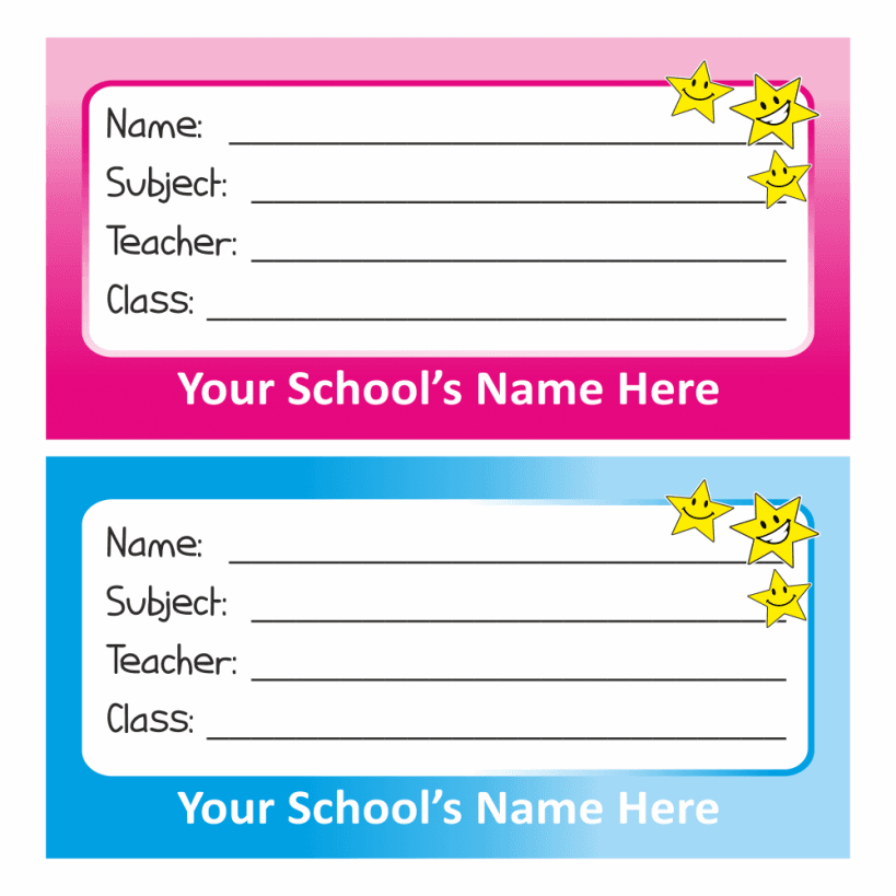 name tag stickers school stickers for teachers. Black Bedroom Furniture Sets. Home Design Ideas