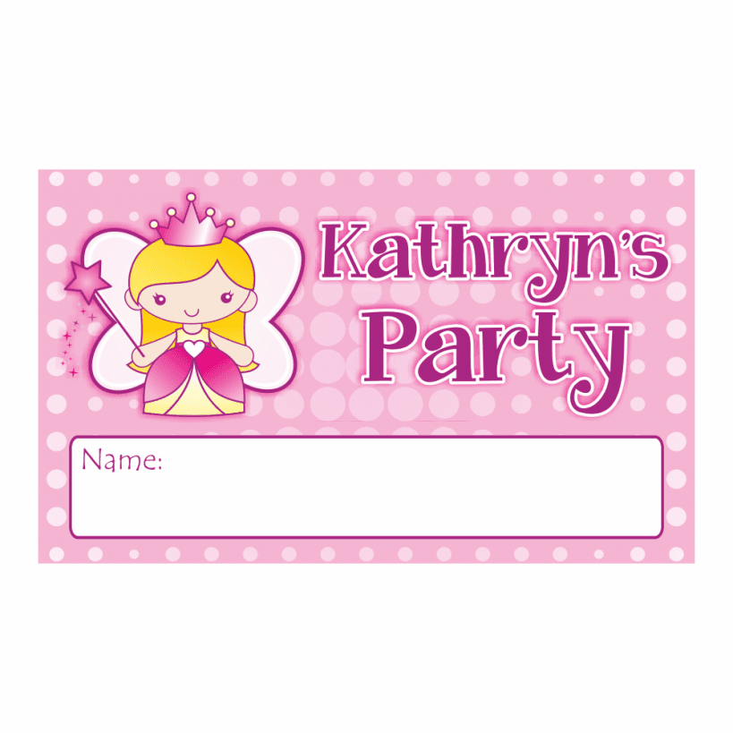 Princess Invitations is beautiful invitation template