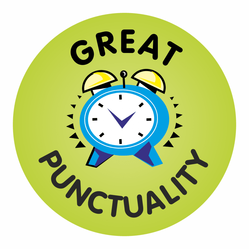 the importance of punctuality Punctuality counts dustin wax  using their lack of punctuality to show their status let's face it — showing off your importance by having other people sit.