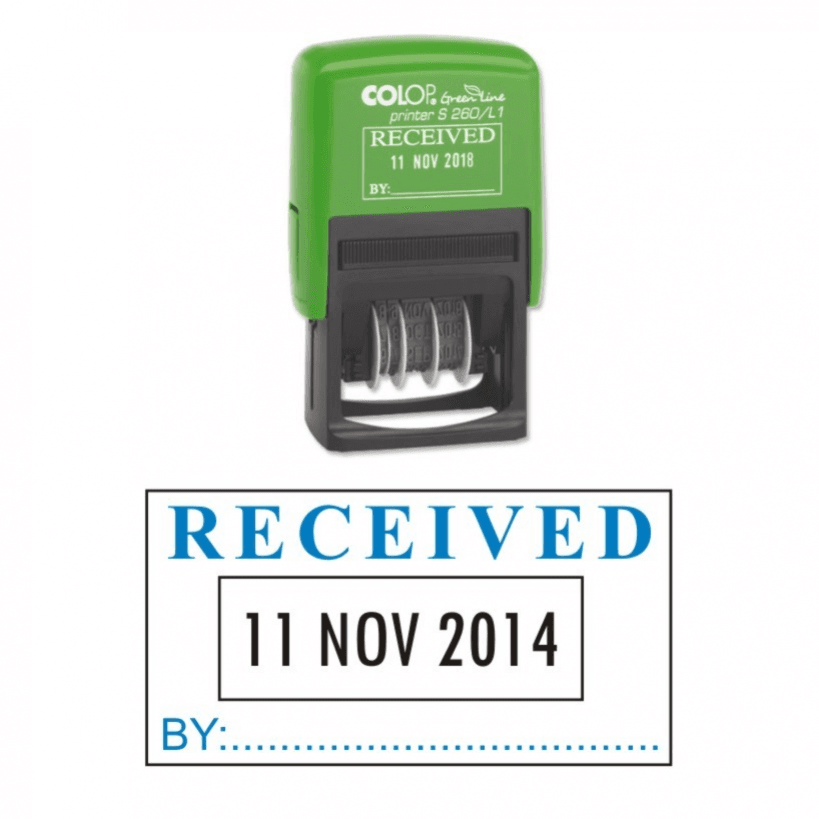 Colop Received Date Stamp