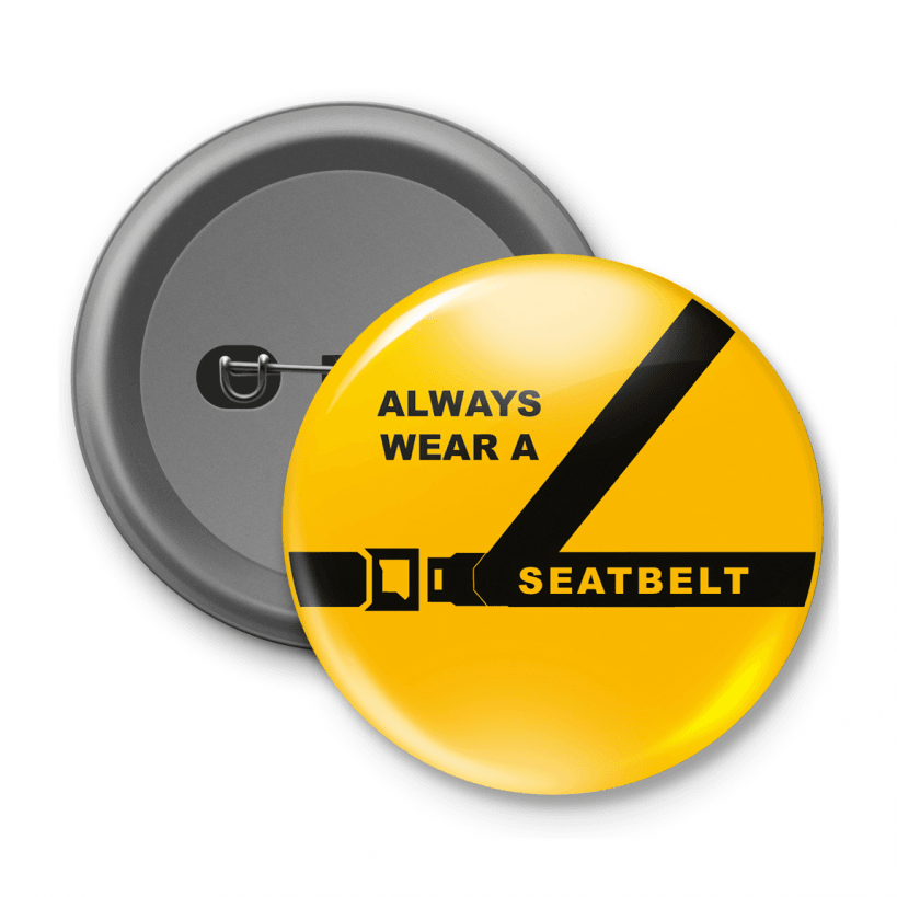 safety button badge set school stickers. Black Bedroom Furniture Sets. Home Design Ideas