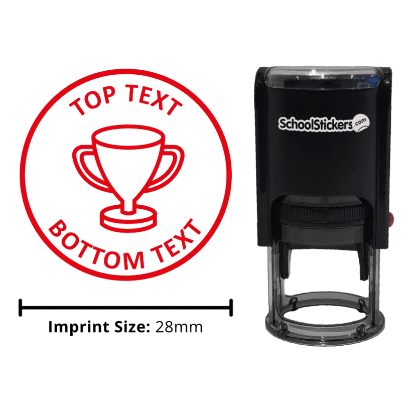 Create Your Own Stamp Trophy Personalised