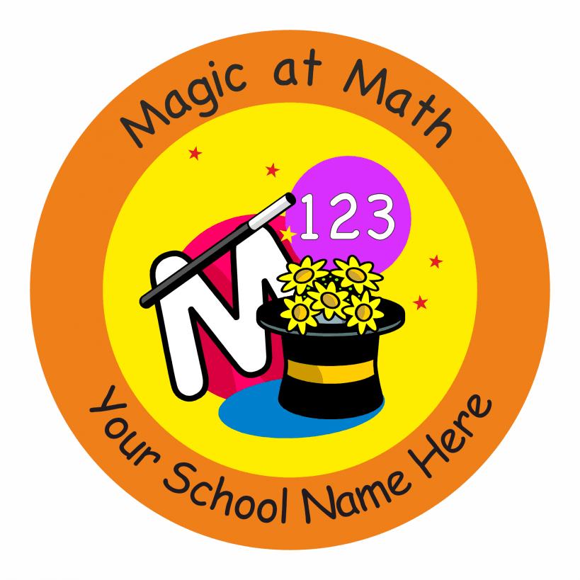 Math Sticker Set 2