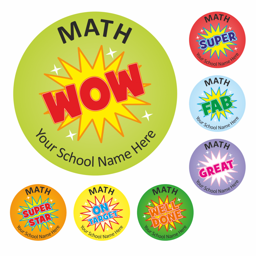 math wow stickers school stickers for teachers. Black Bedroom Furniture Sets. Home Design Ideas